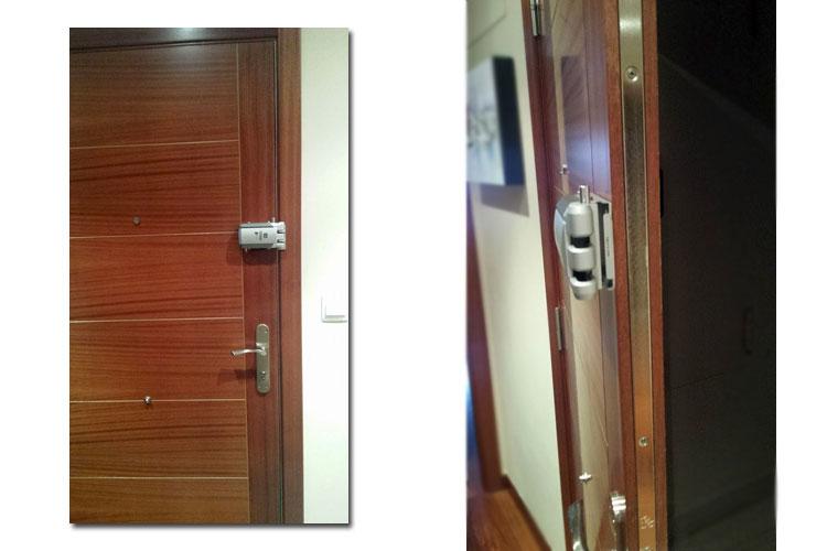 Instalación de cerraduras de seguridad invisibles