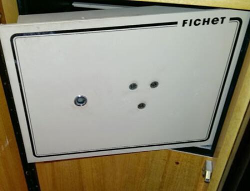 Apertura de caja fuerte Fichet