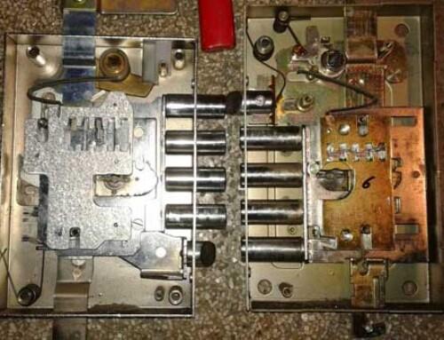 Reparación e instalación de cerradura ¿de 5 anclajes?