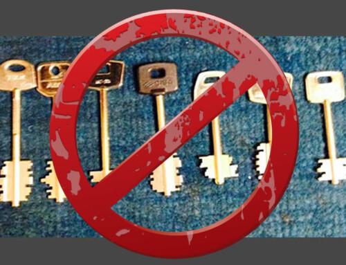 Las cerraduras con llaves de tipo gorja son muy vulnerables